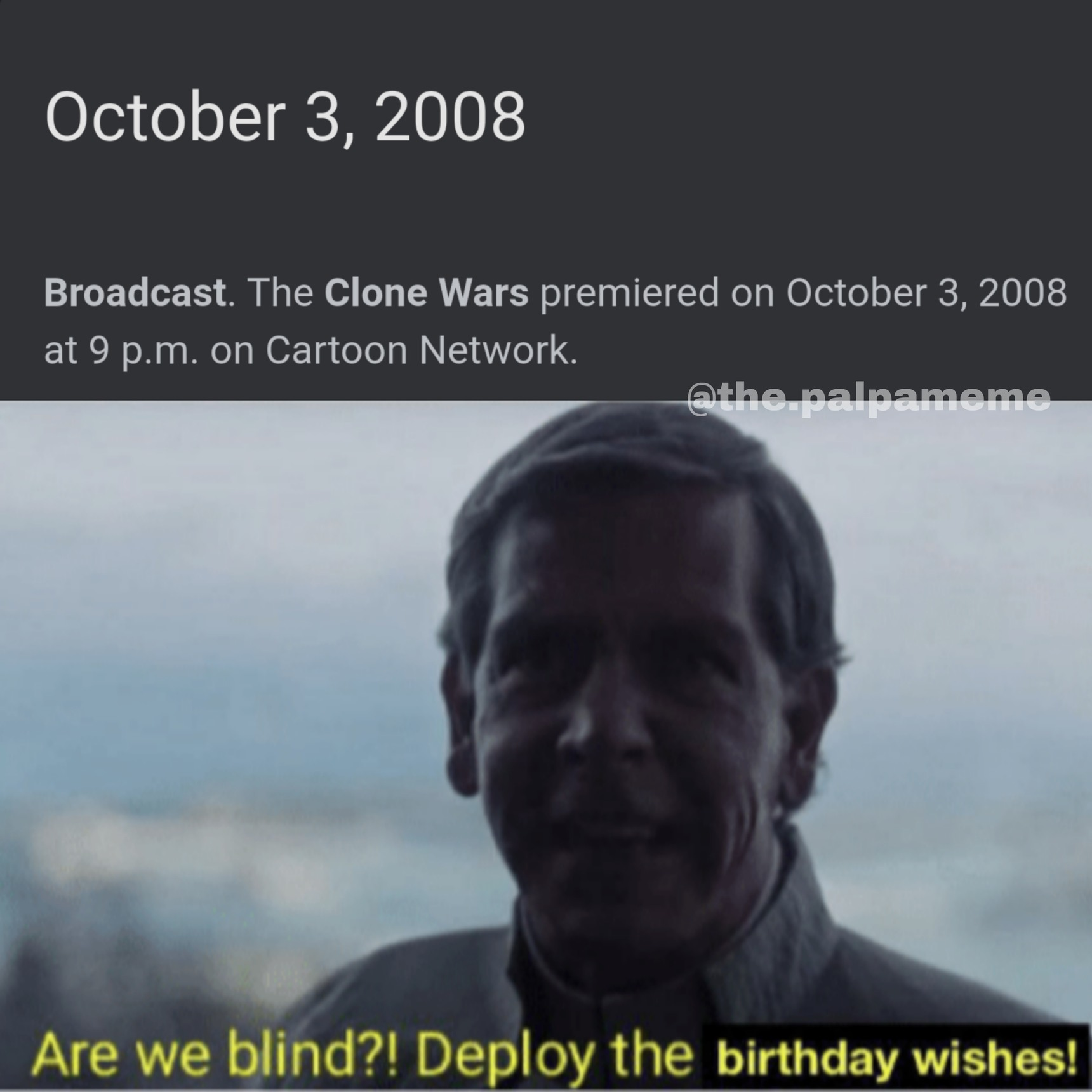 Kinda late - meme
