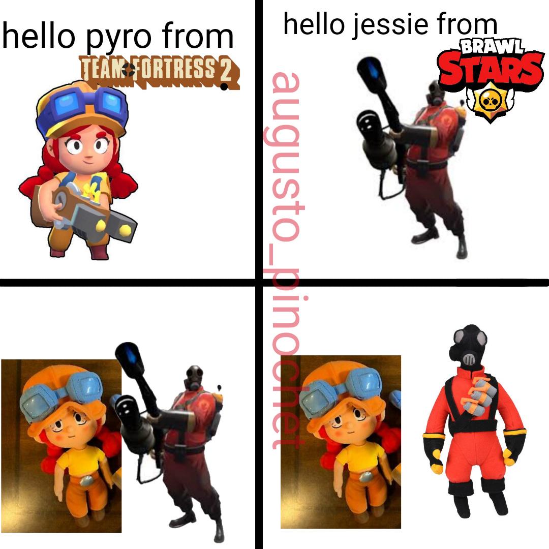 pyro peluche - meme