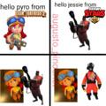 pyro peluche