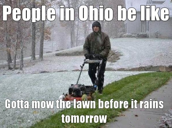 April in Ohio - meme
