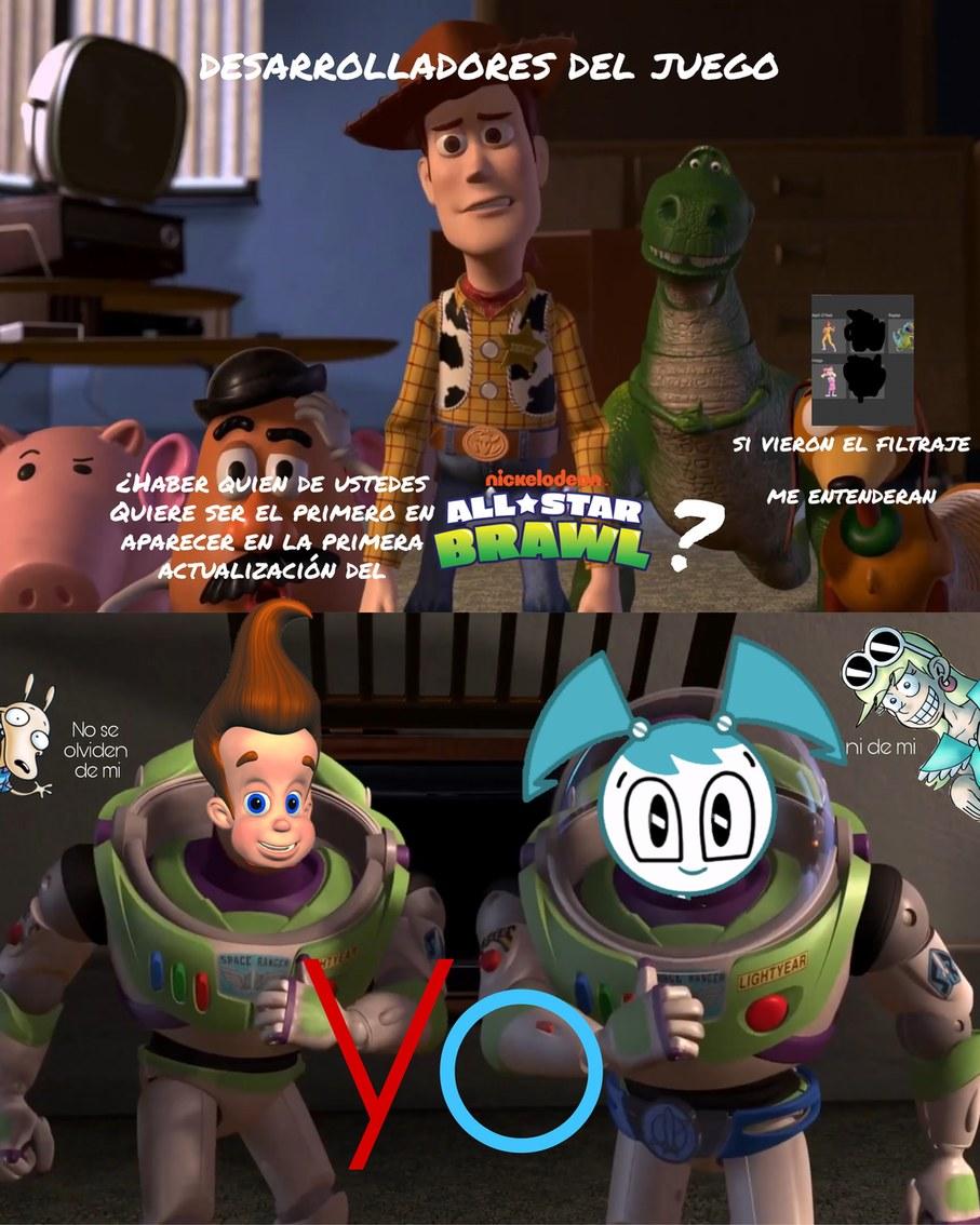 Me pregunto quien sería los próximos 2 personajes  - meme