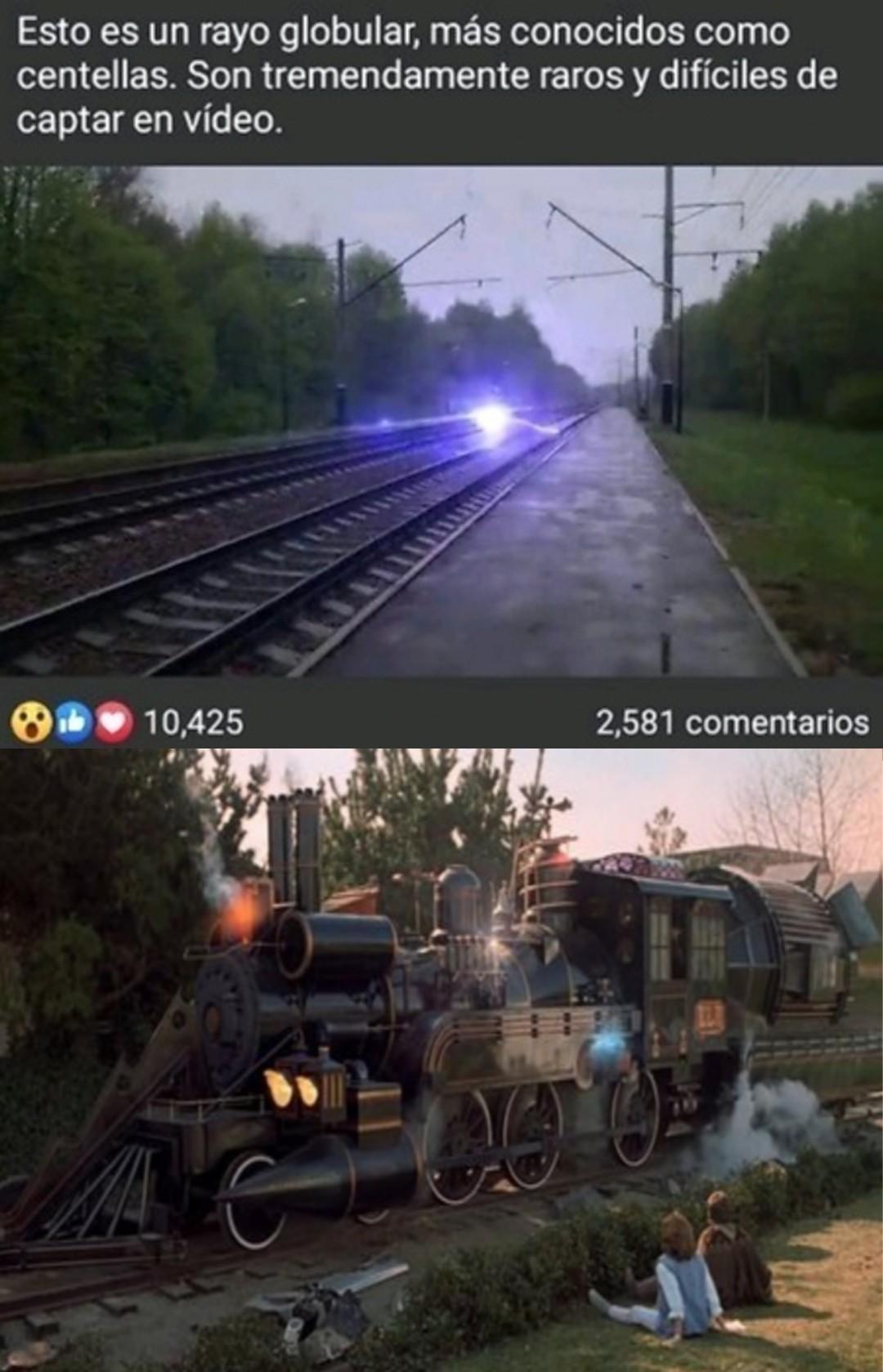 Back to the future 3 - meme
