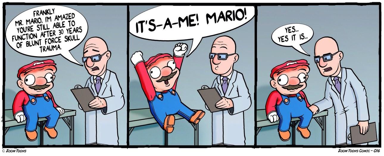 Poor mario - meme