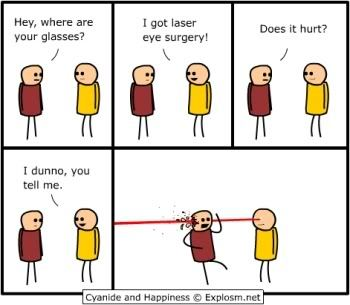 Laser eyes - meme