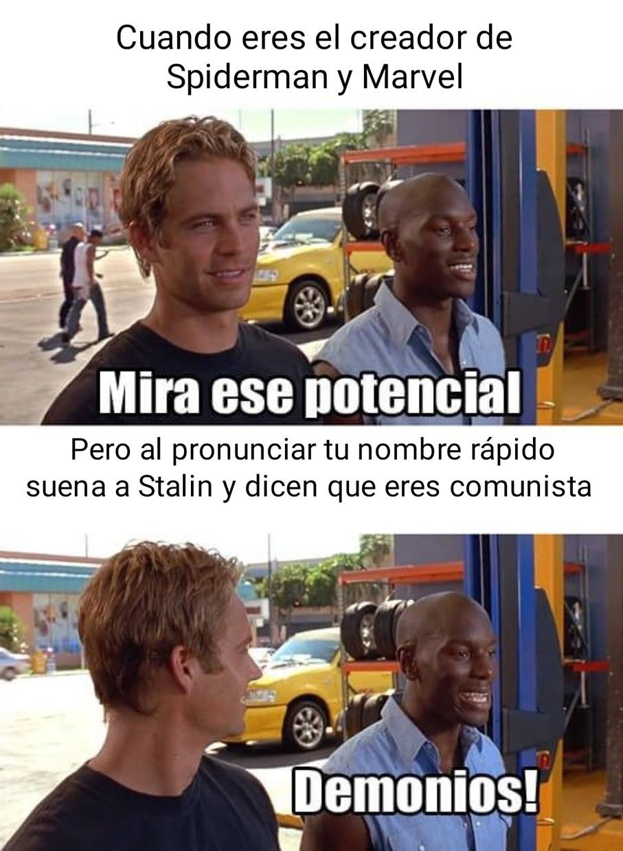 Malditos comunistas - meme