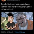 Butch hartman steal other artists traces
