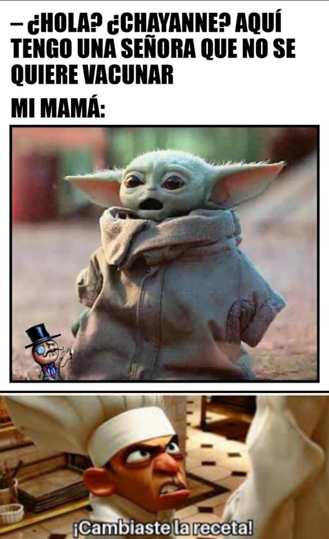 El meme lo mando mi mama