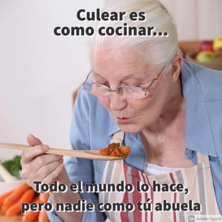Las abuelas siempre son las mejores - meme