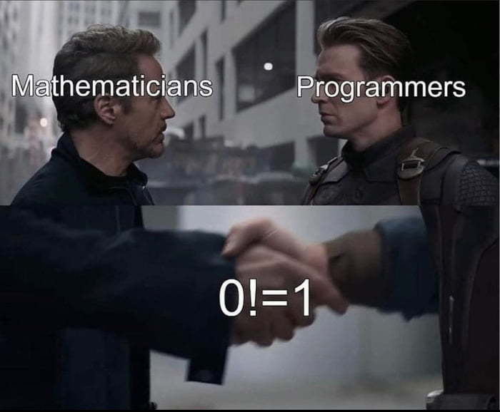 Mathematicians and Programmers a perfect duo - meme