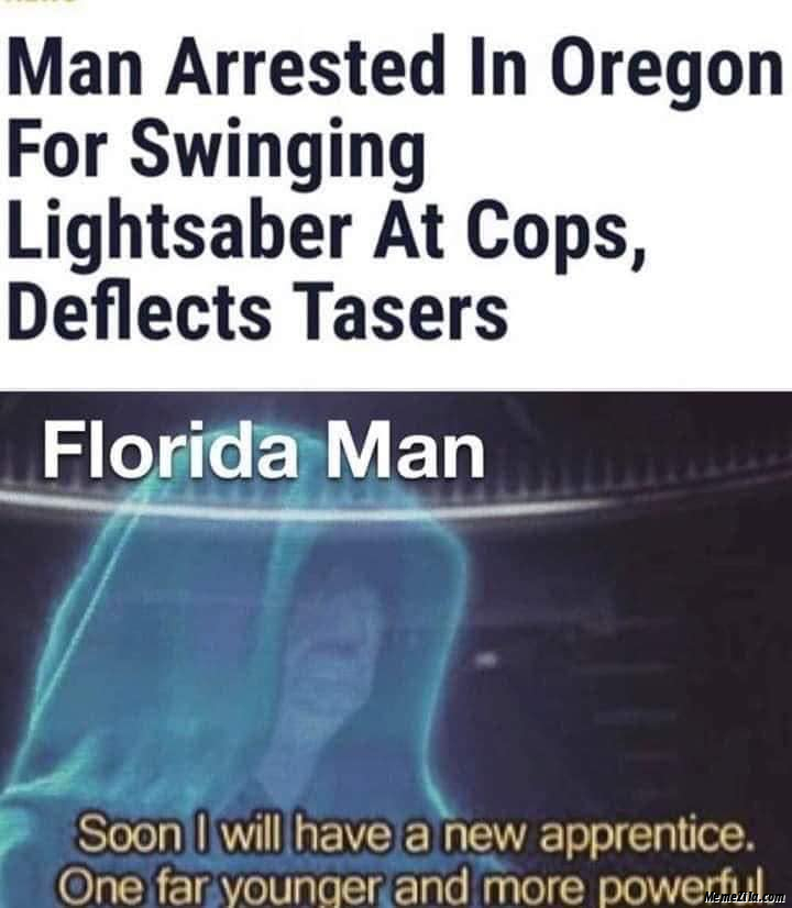 Sith Lord, Darth Florida Man - meme