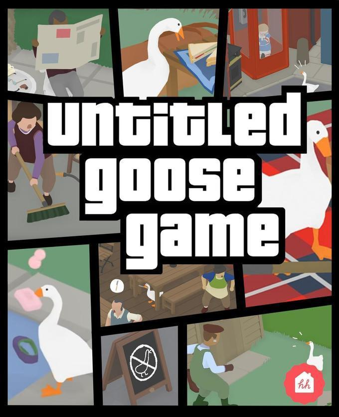 GTA UNTITLED GOOSE GAME - meme