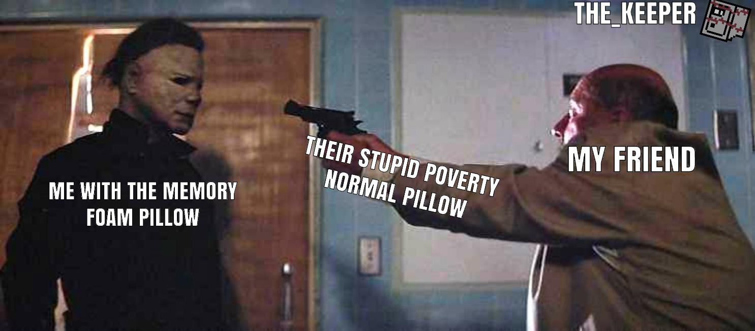 No survivors shall leave this sleepover - meme