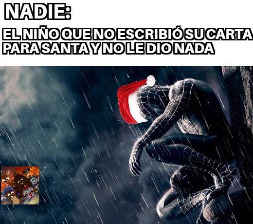 F navideño - meme