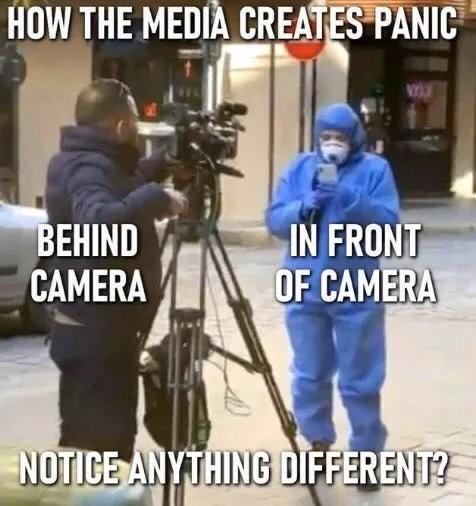 Media be like - meme