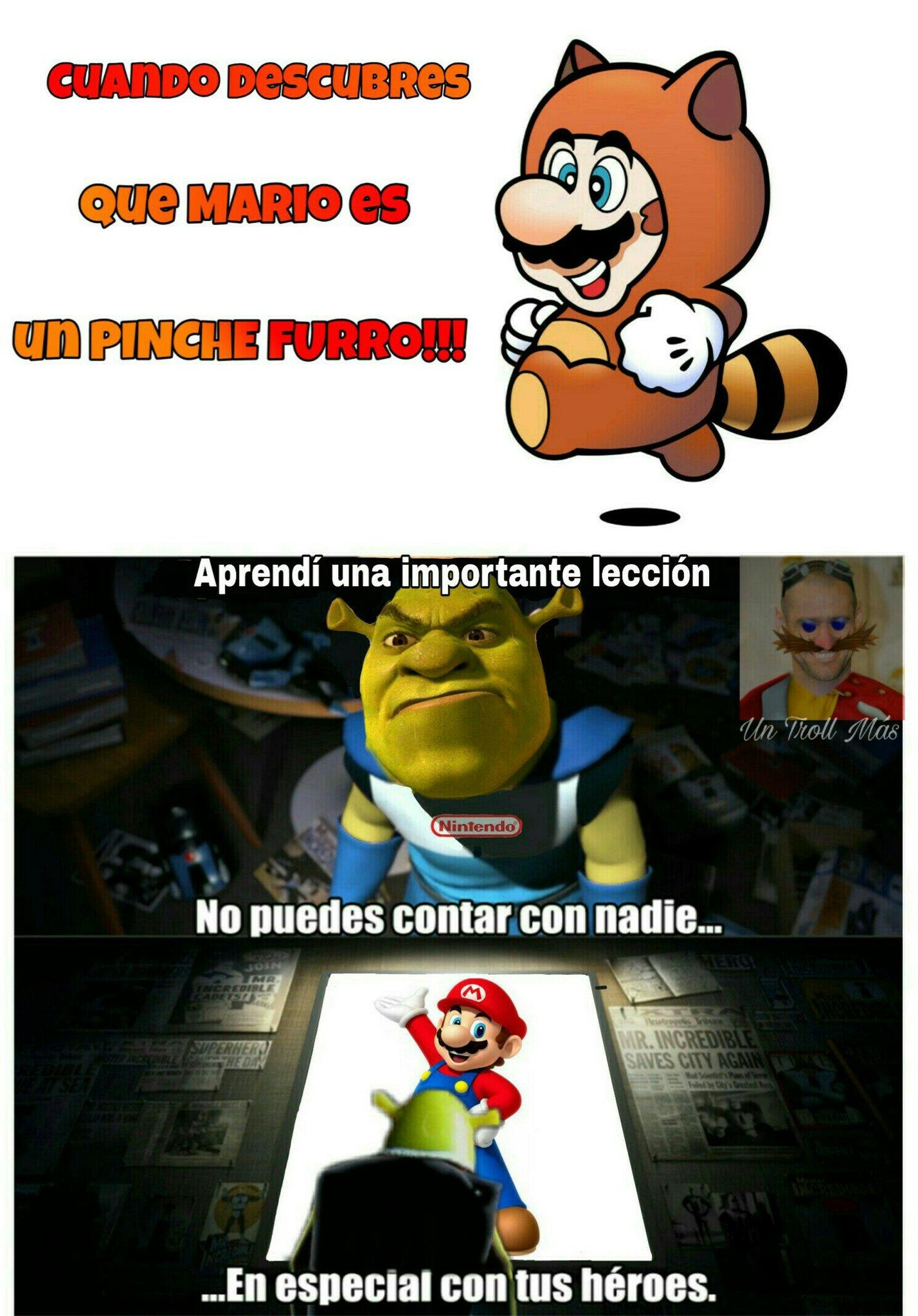 El Chuerk fanático de Nintendo, lol - meme