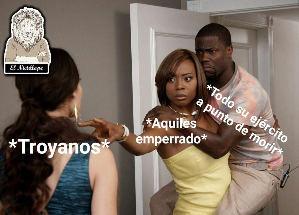 La iliada - meme