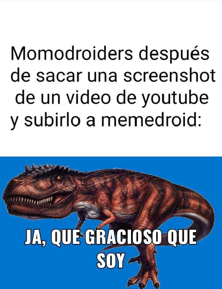 Vendo un giganotosaurus, contactenme si están interesados - meme
