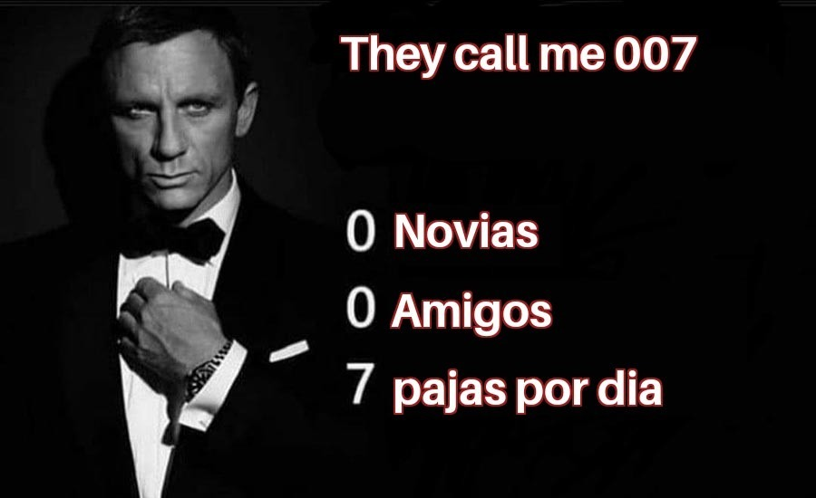 007 James Antisocial - meme