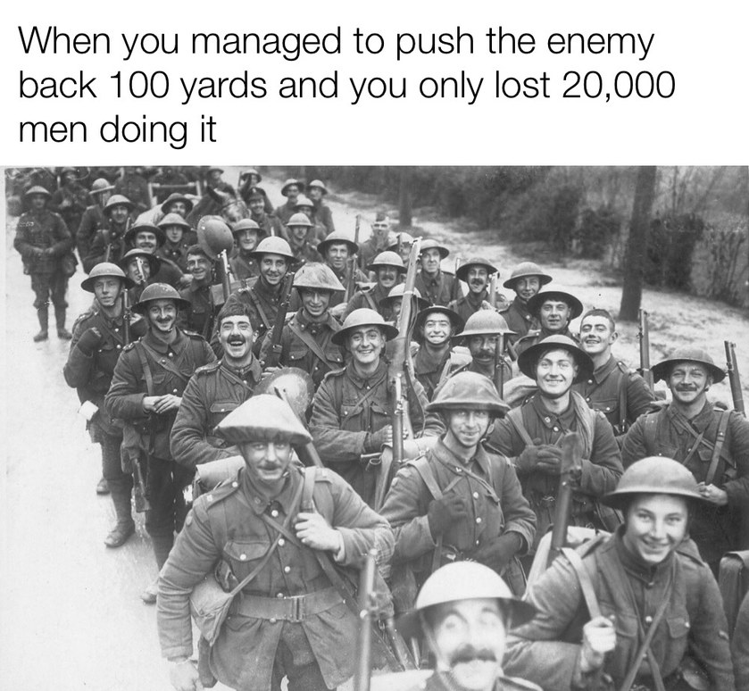These poor guys didn't know what they were in for - meme