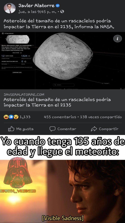 Asteroide - meme