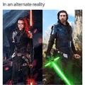 Ben Solo & Rey Ren