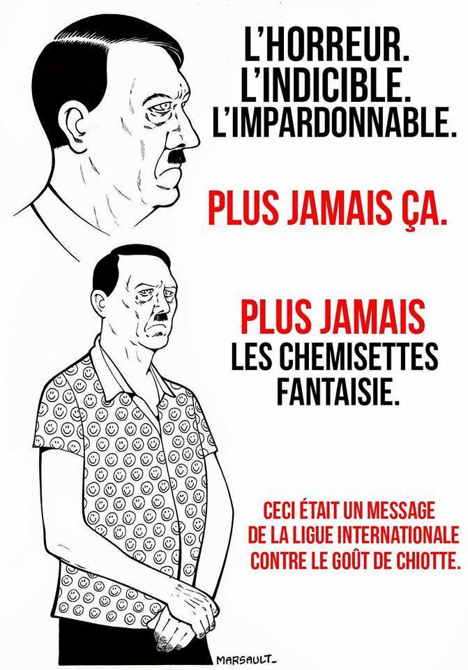 Haaaa.... les chemises fantaisie.... - meme