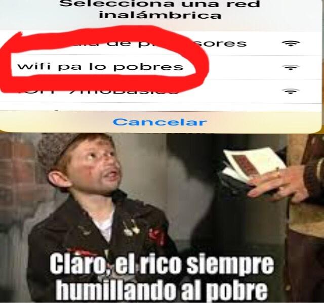 Wifi xd - meme