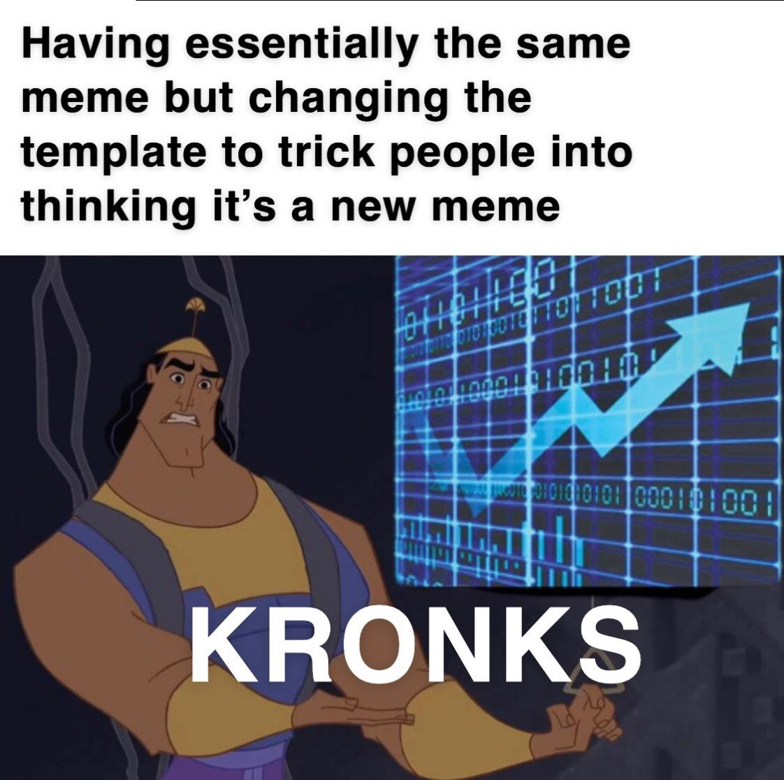 Does it make sense? No. Is it a good meme? Also no