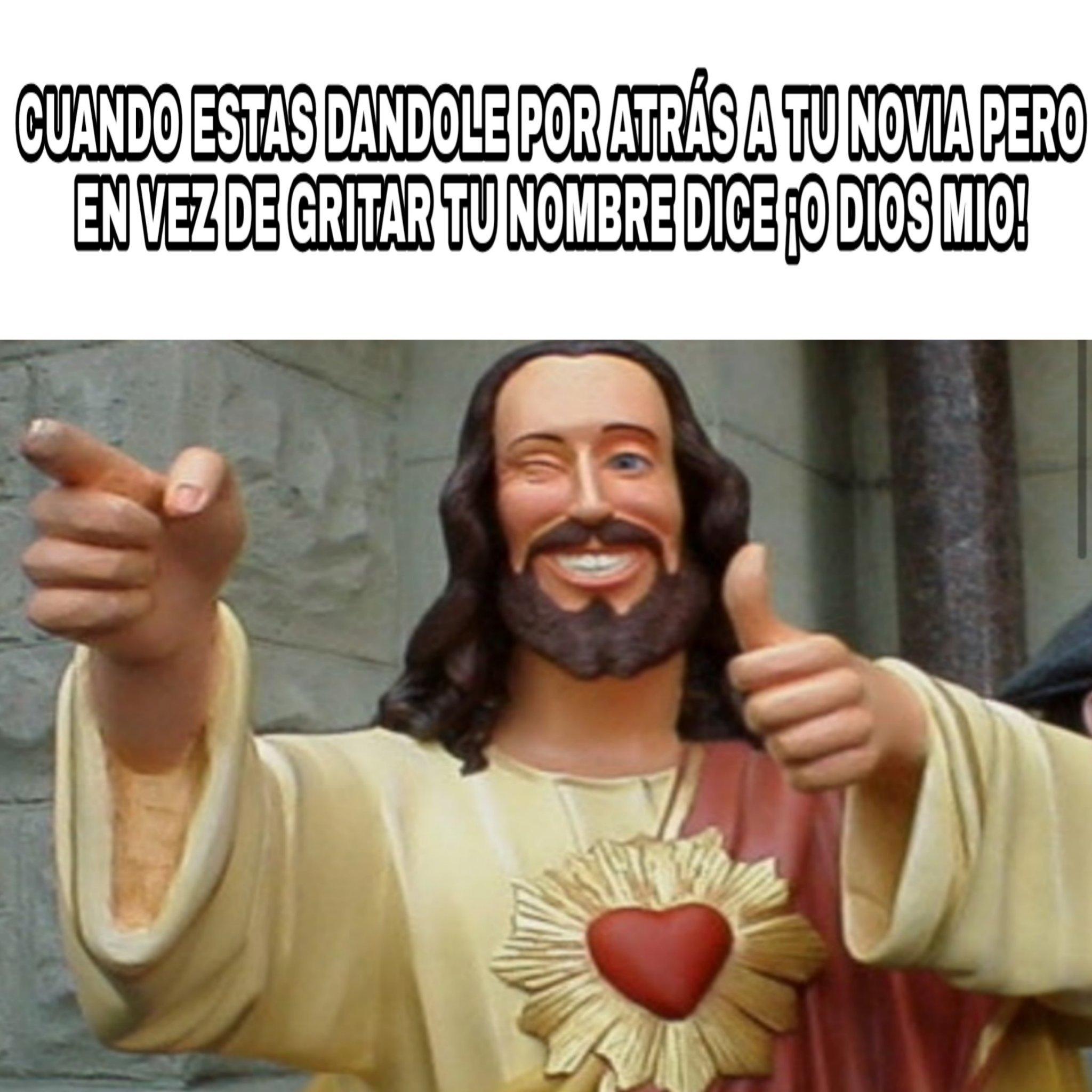 Soy cristiano cristianos no se enojen - meme