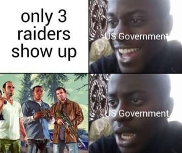 Rip government  - meme