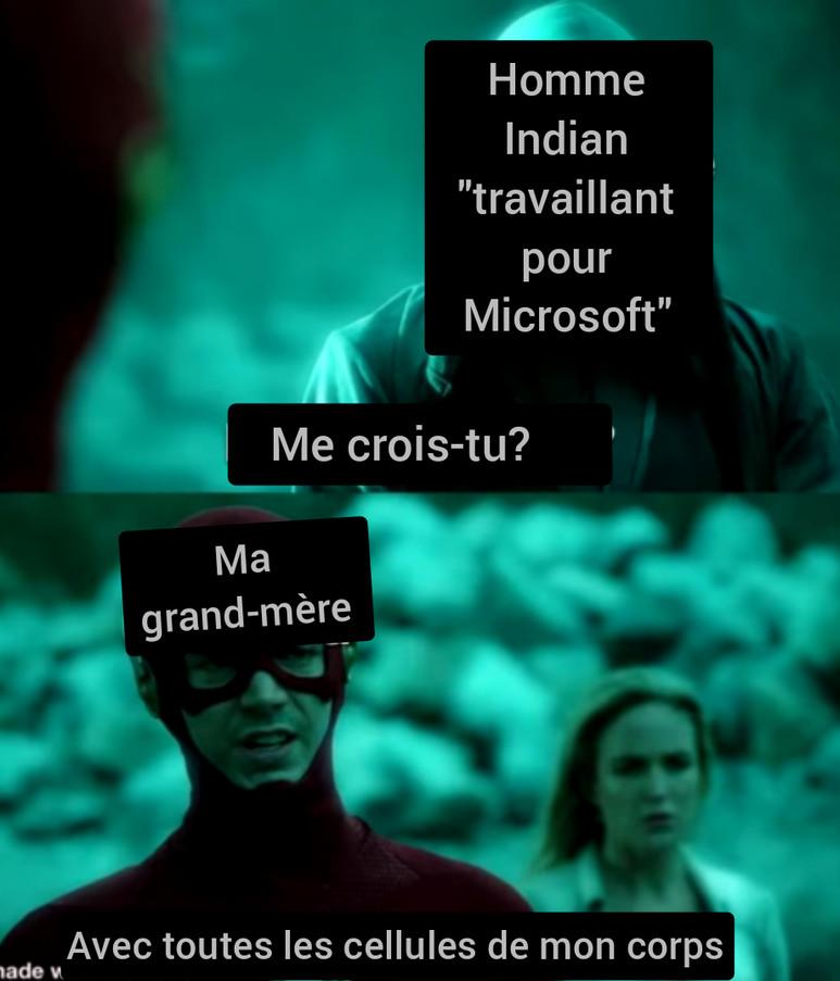 Fresh juicy meme (Soit je traduisais mais ça cachait tout, soit je laissais en Anglais)