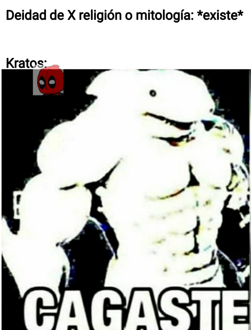 Capo el Kratos - meme