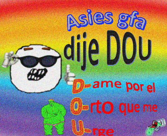DOU = homo - meme