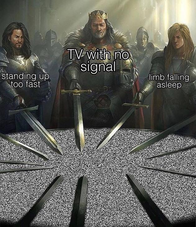 my leg - meme