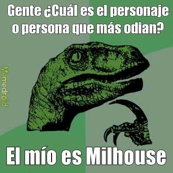 Nadie quiere a Milhouse - meme