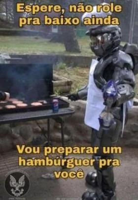 Hamburguer - meme