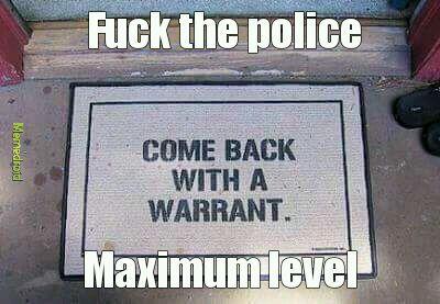 Fuck the police - meme