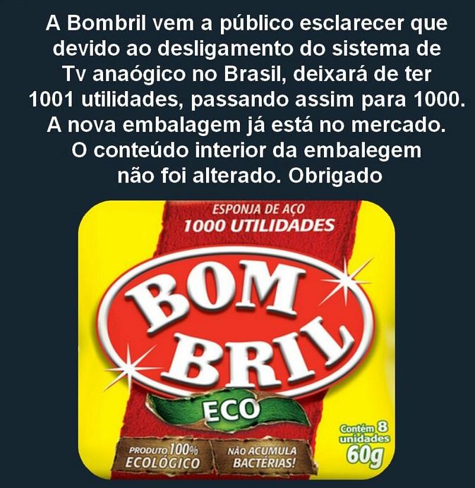 Bombril 1000 utilidades - meme