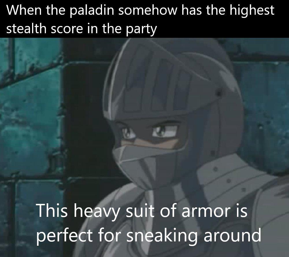 Full plate = best stealth - meme