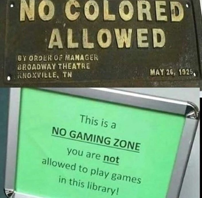 No niggermen and gaymer allowed in the comment section - meme