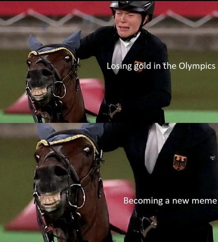 happy horse - meme