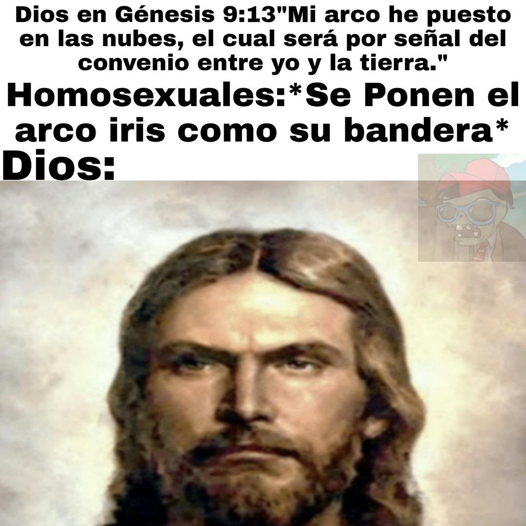 Malditos homosexuales - meme