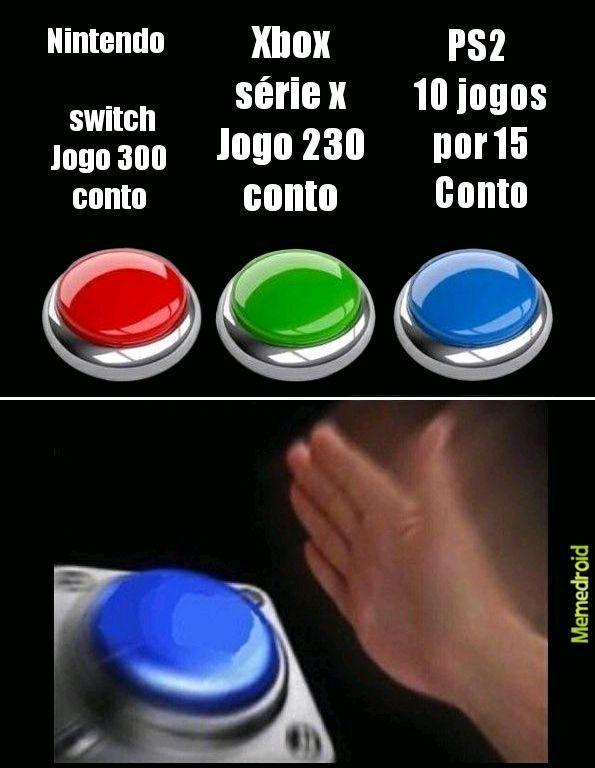 Finalmente vou comprar o meu PS2 - meme