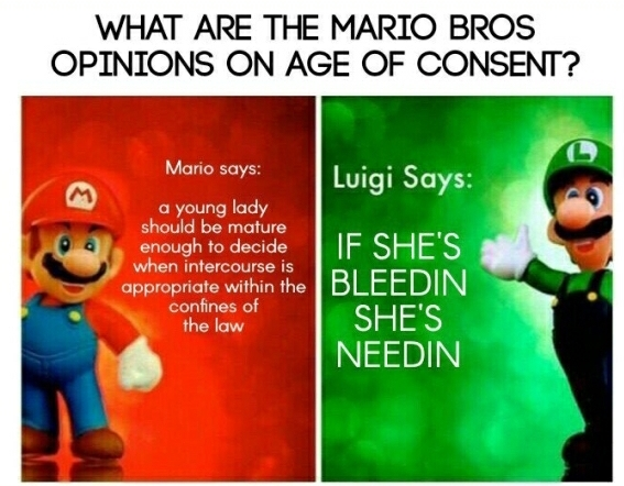 Again, words of wisdom from Luigi - meme