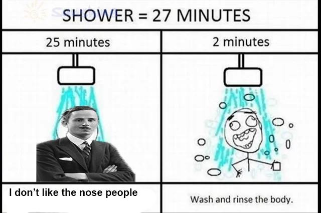 Wash and rinse - meme