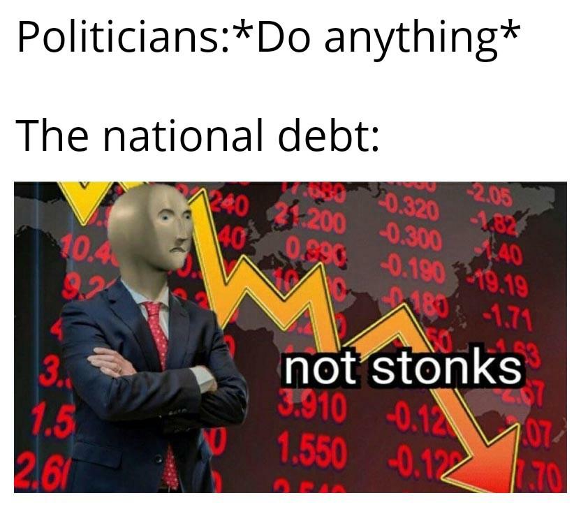 C'est na pas le stonks - meme
