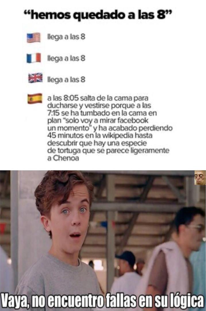 :verdad: lo peor es que soy de España - meme