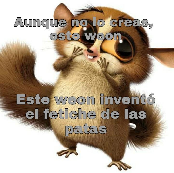 Patas del rey julien - meme