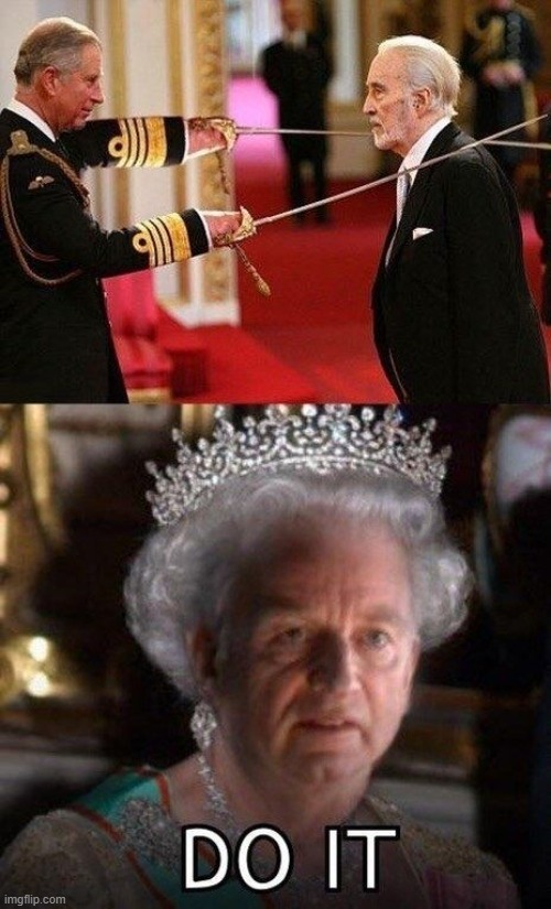 God Save The Queen - meme