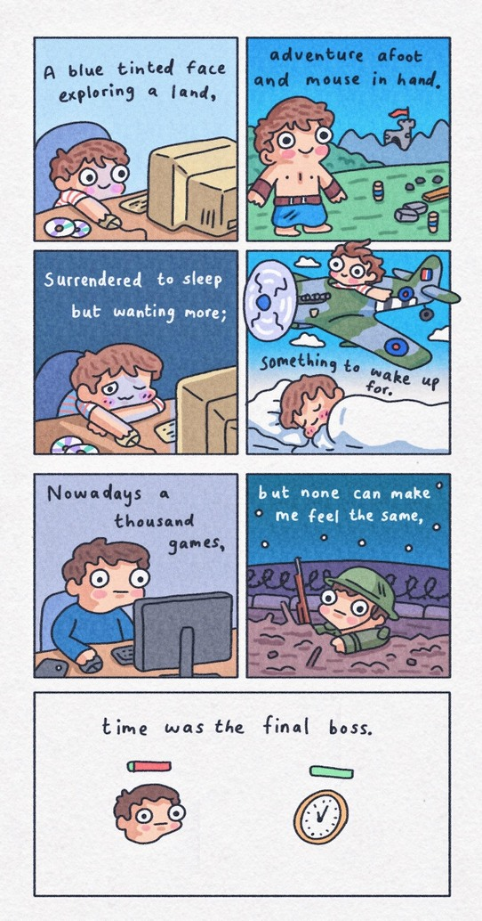 Videogames nostalgy - meme